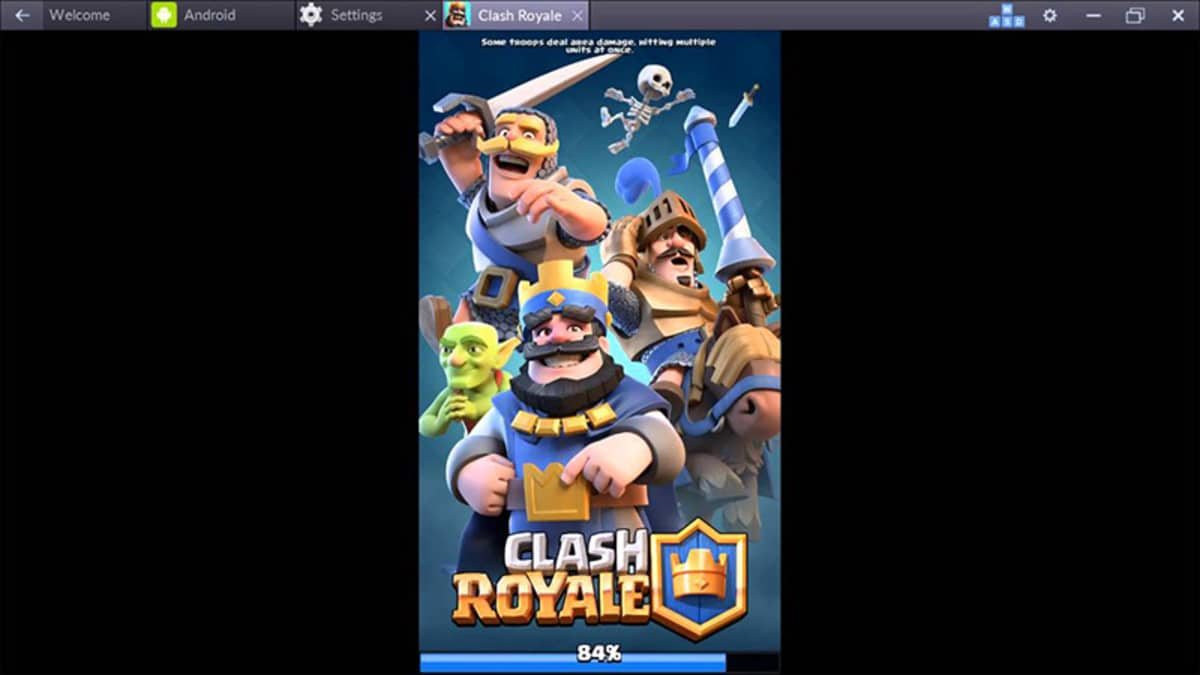 Clash Royale BlueStacks