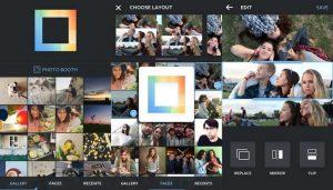 Montajes de foto Android