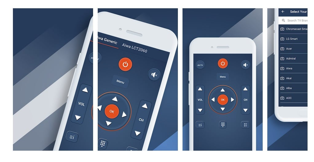 aplicaciones para mando universal