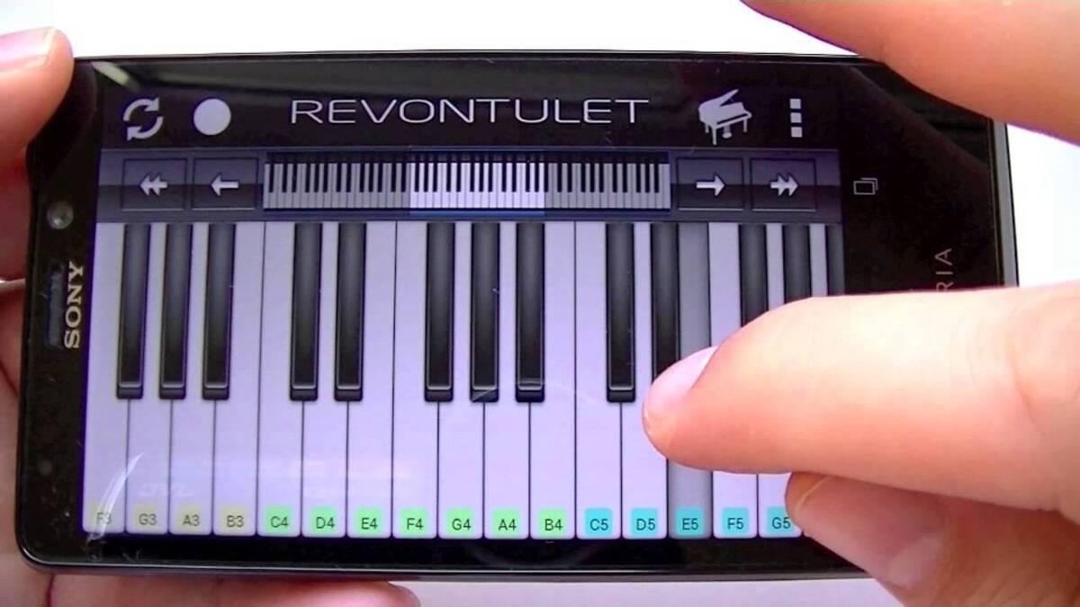 Aprender a tocar el piano Android