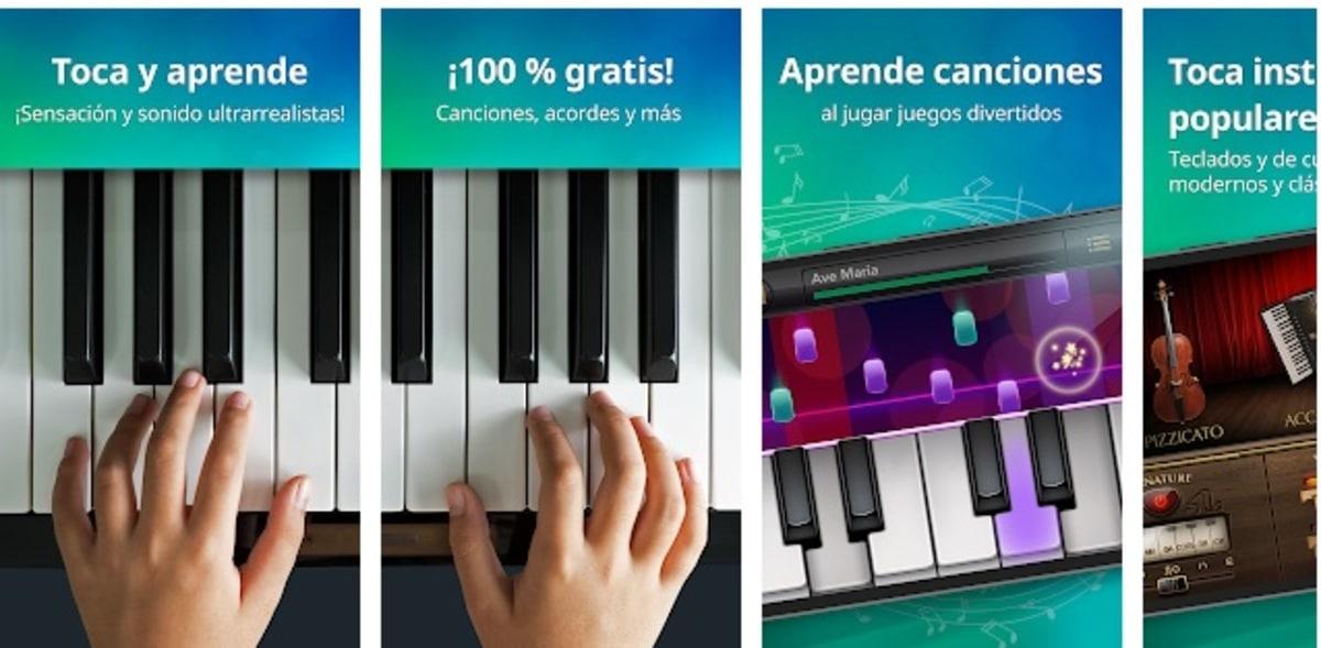 Piano música