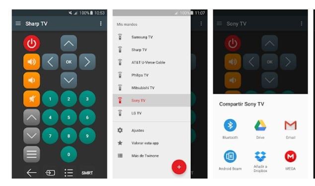 Aplicaciones para convertir tu movil en un mando de TV