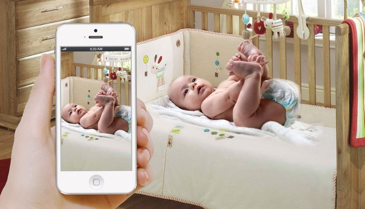 aplicación para vigilar bebés