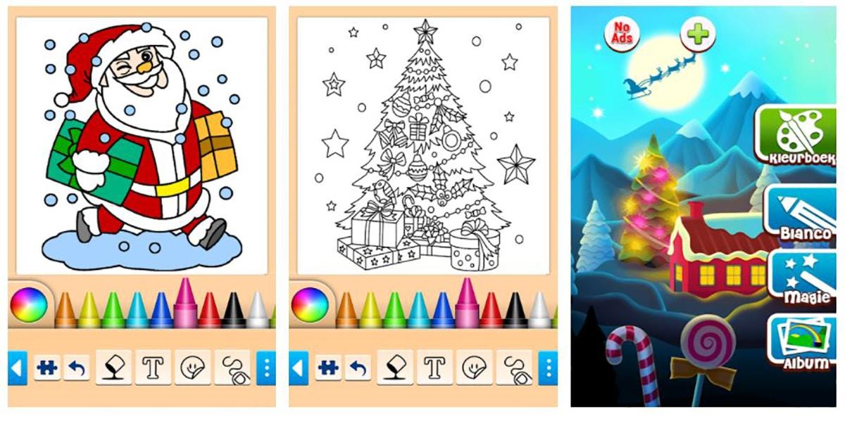 Navidad colorear