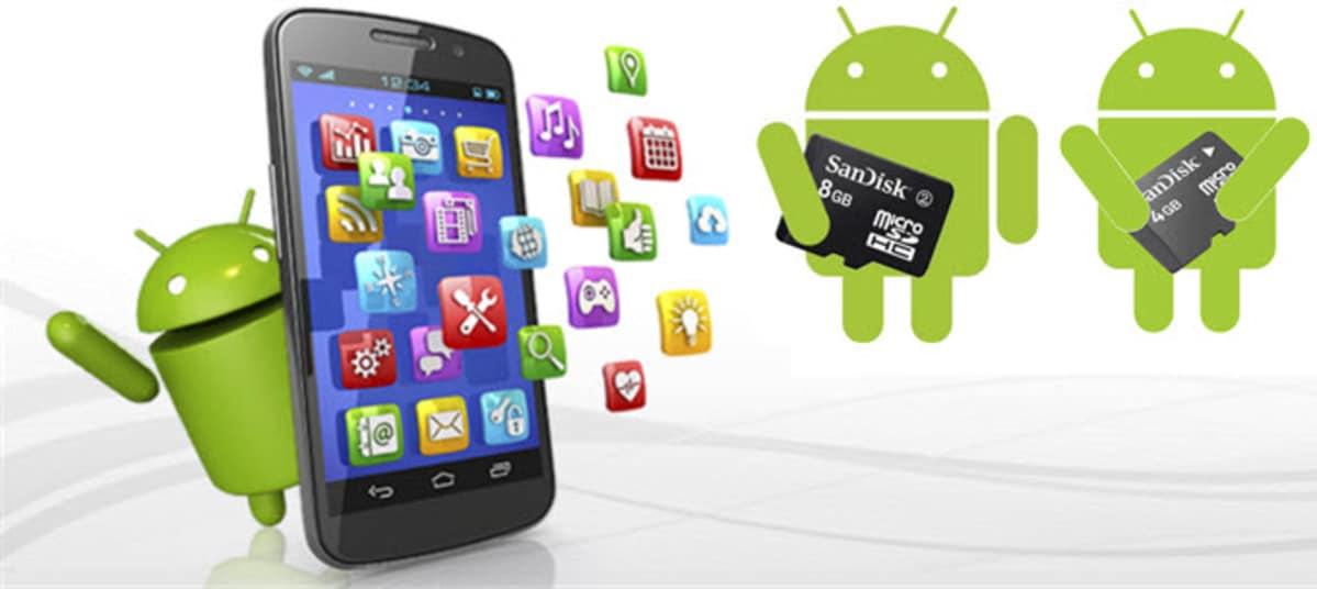 Pasar apps a la tarjeta sd