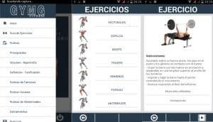 Apps rutinas gym