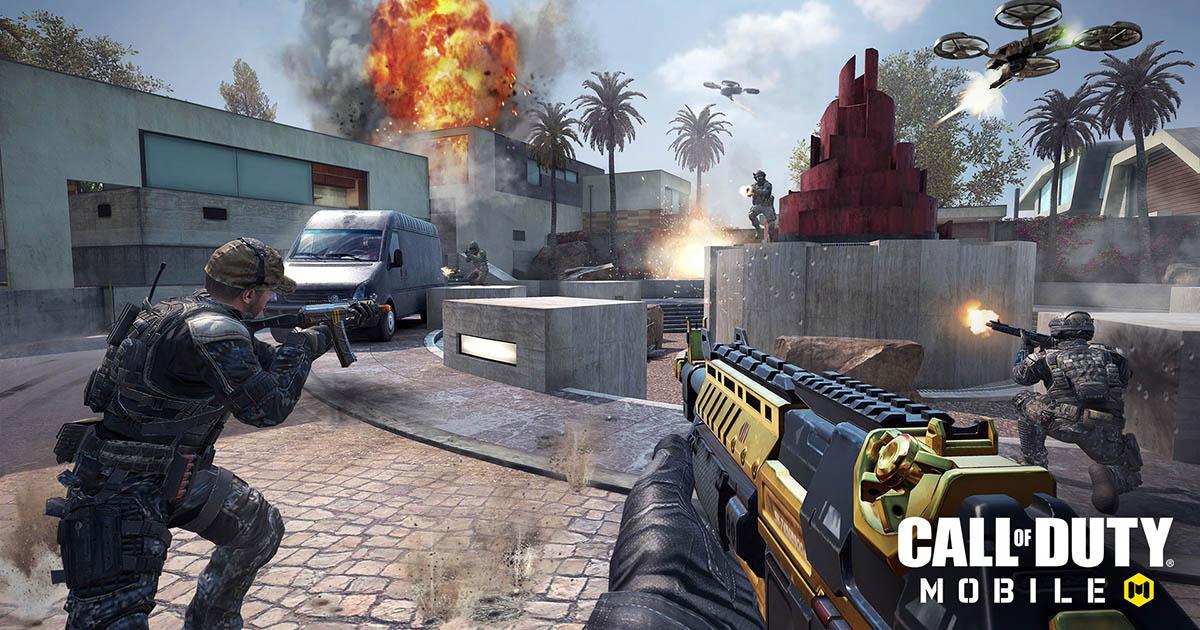 Call of Duty: Mobile jugando