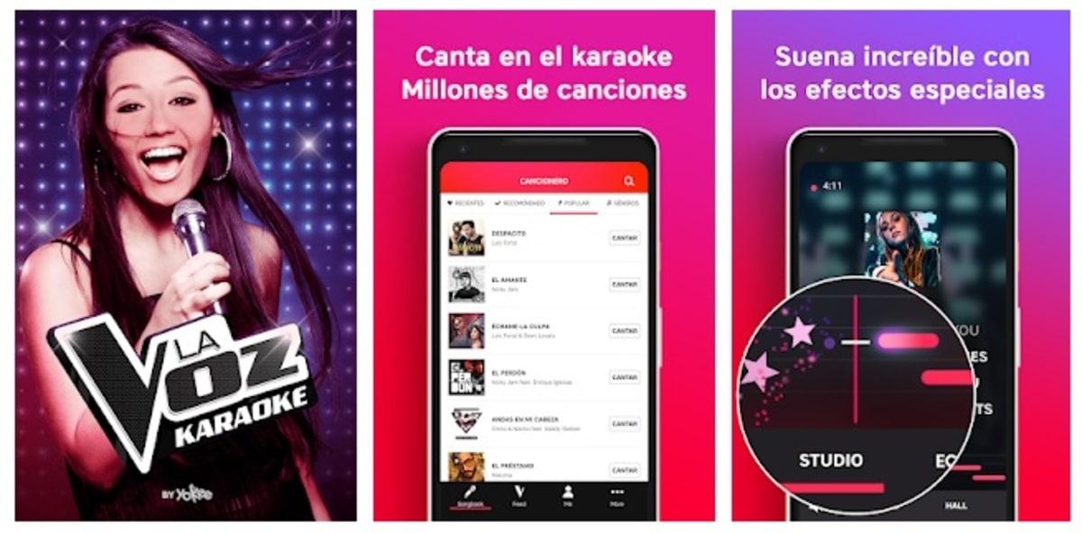 Karaoke La Voz