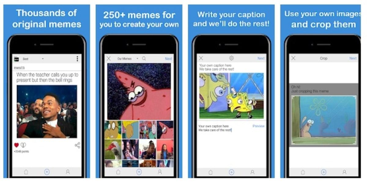 Modern meme maker