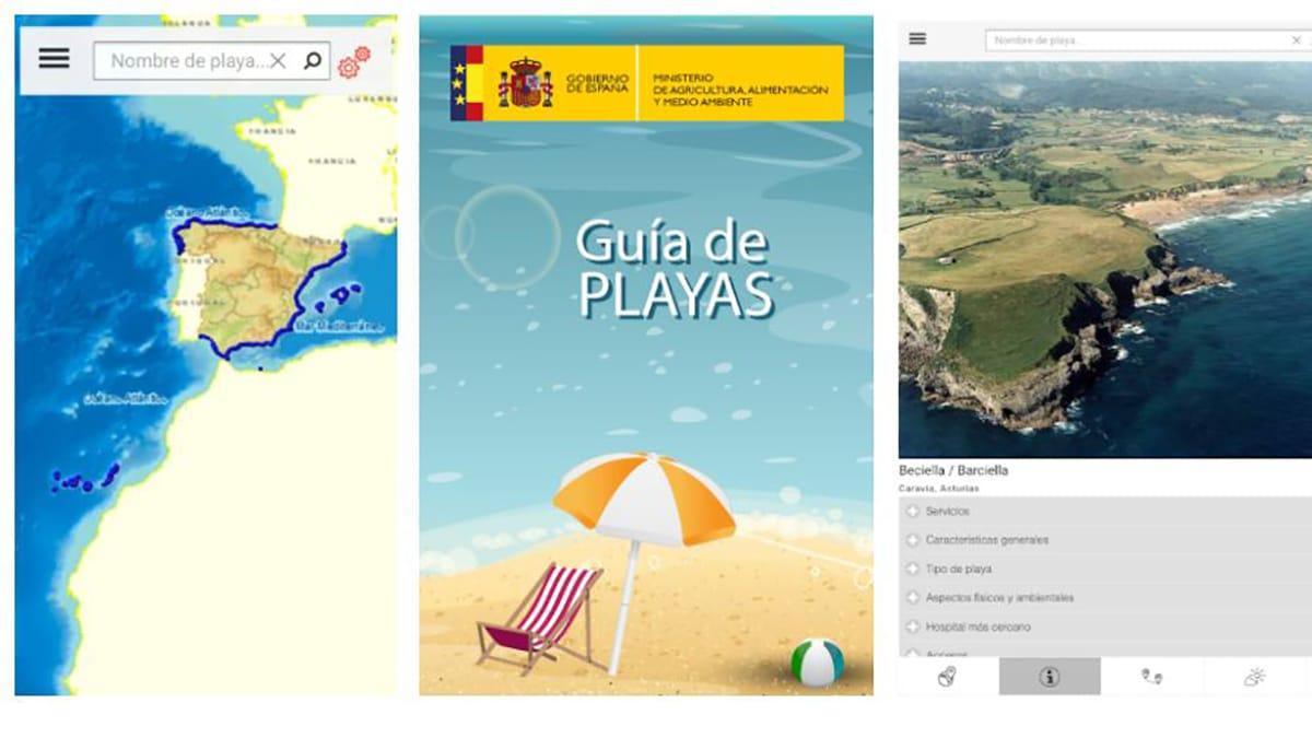 Guía de playas MAGRAMA