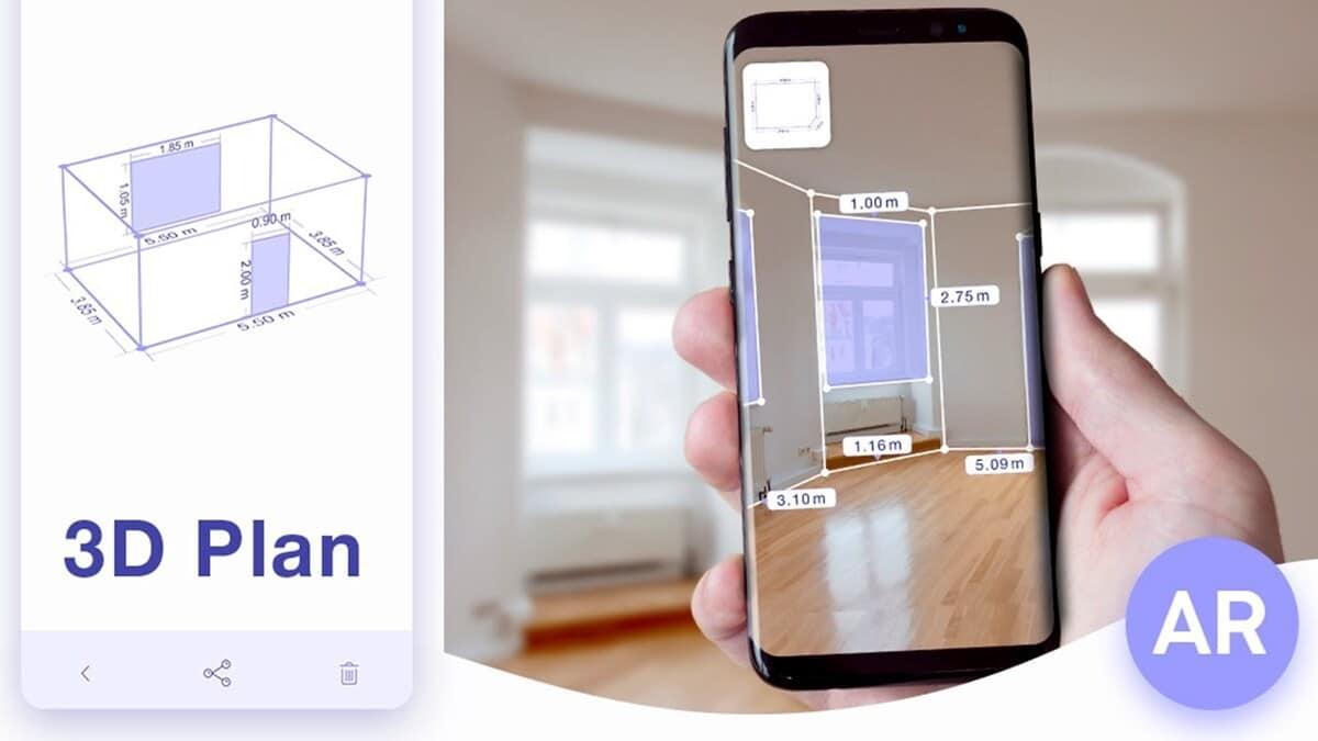 AR Plan 3D Regla