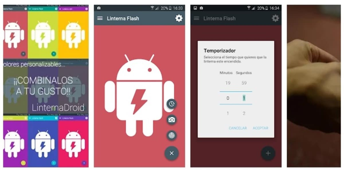 Linterna Android