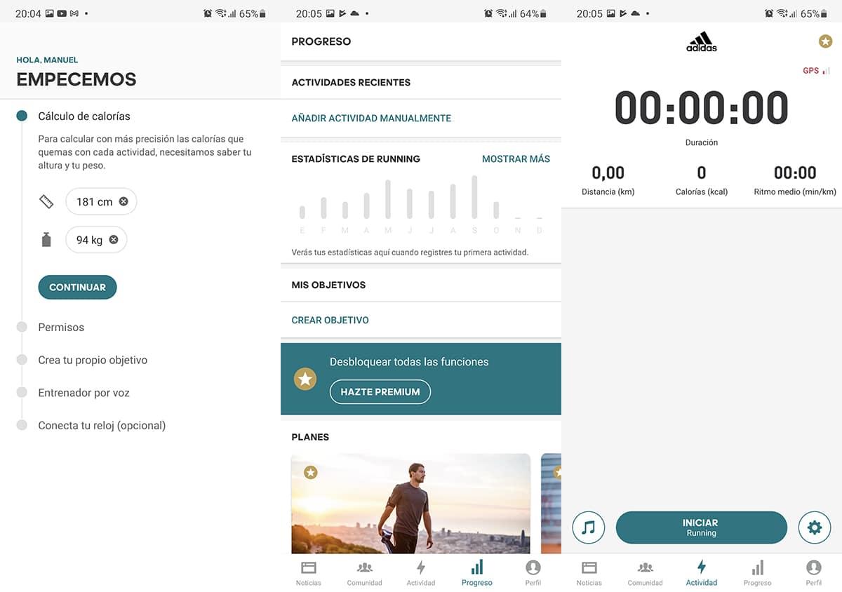 Adidas Running por Runtastic