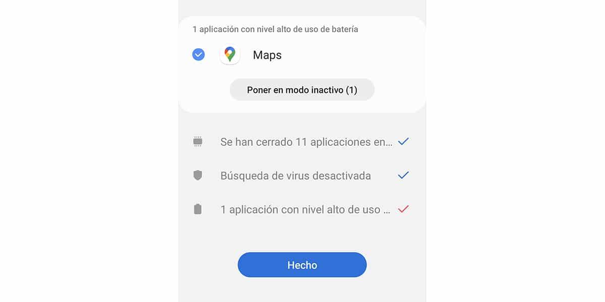 Cerrar apps en segundo plano