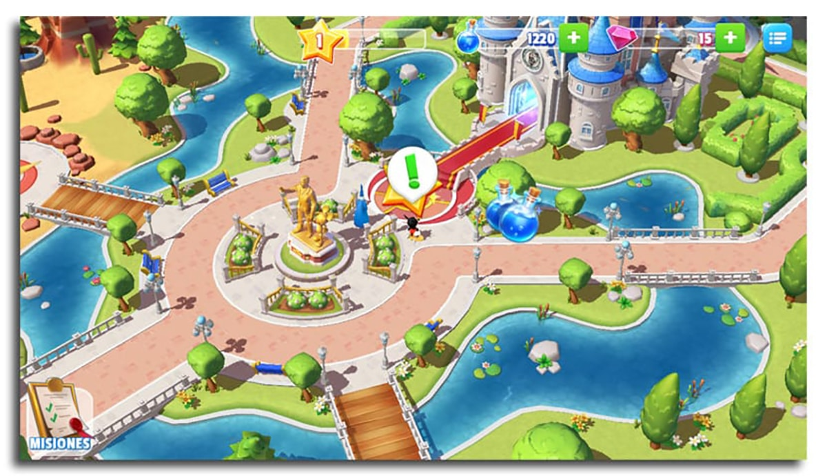 Disney Magic Kingdoms: Crea tu propio parque mágico