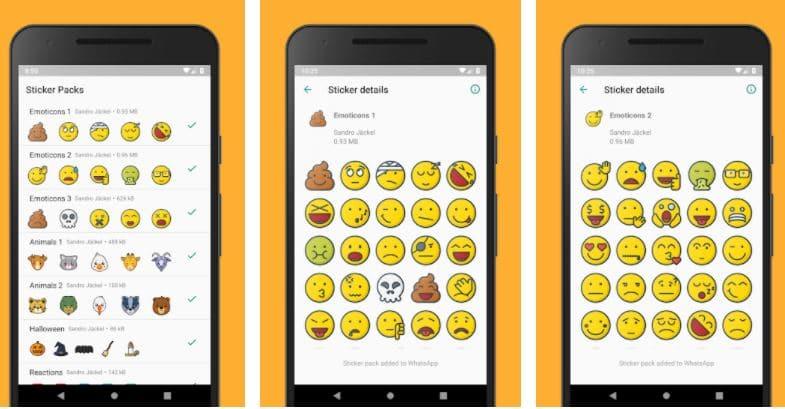 Emoticons Sticker Pack of WhatsApp