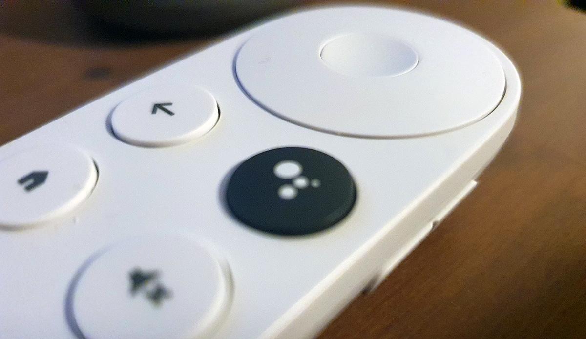Mando a distancia de Chromecast con Google TV