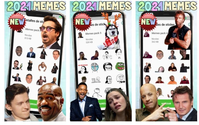 New Memes 2021 Stickers