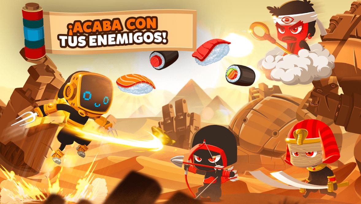 Los mejores juegos de ninjas