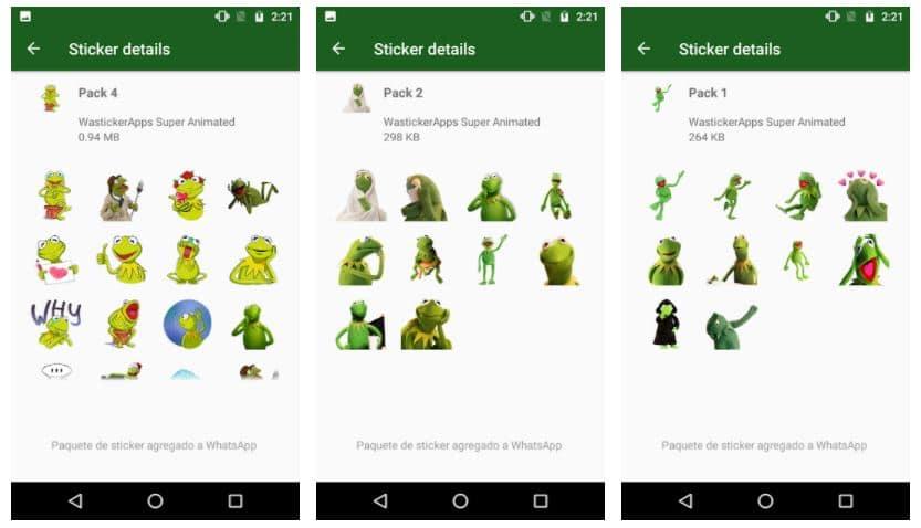 Nuevos Stickers Memes de Kermit (La Rana Gustavo)