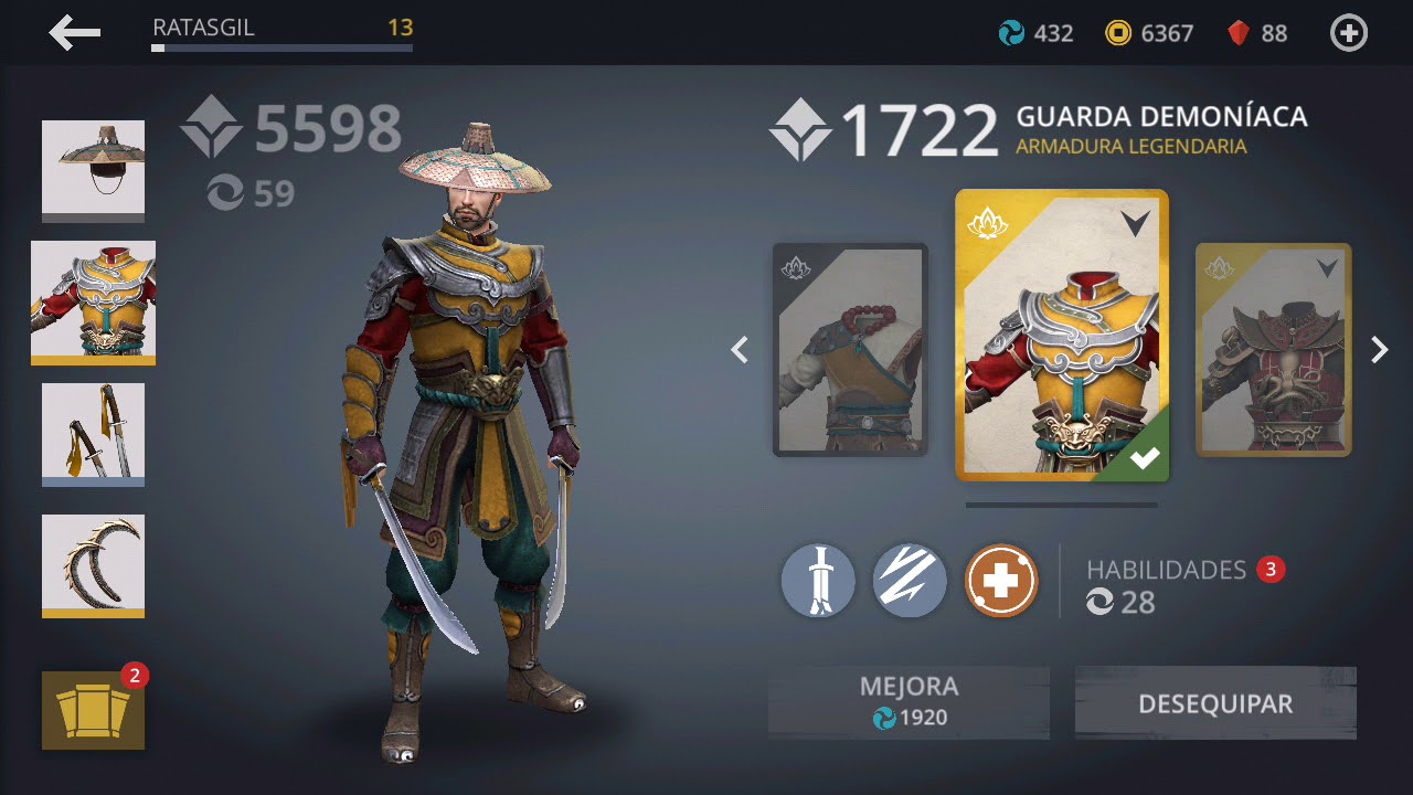 Juegos ninja Play Store
