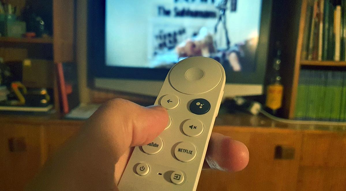 Usando el mando a distancia
