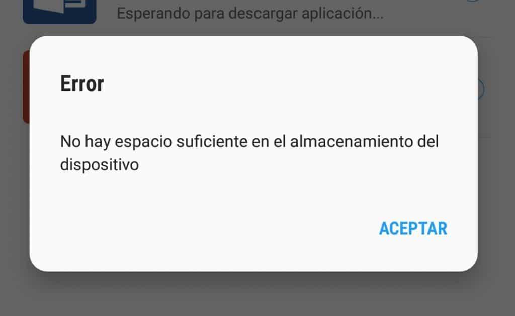 Por qué no puedo descargar apps