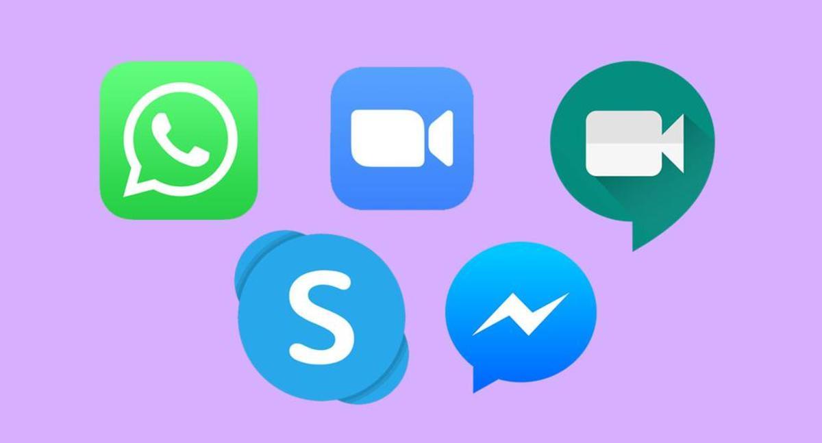 Llamadas a tres apps
