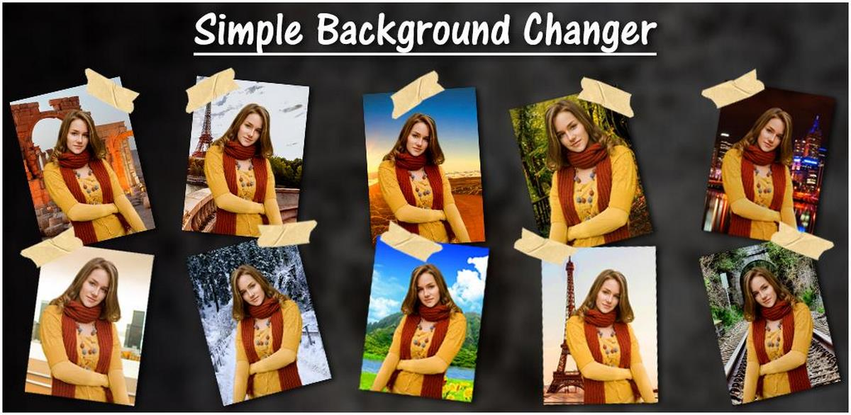 Simple Background Changer