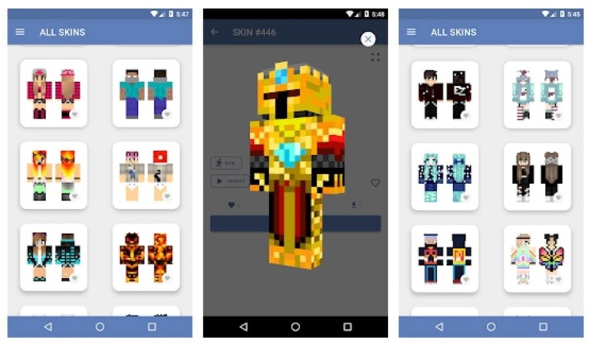 Crone Skins Minecraft PE