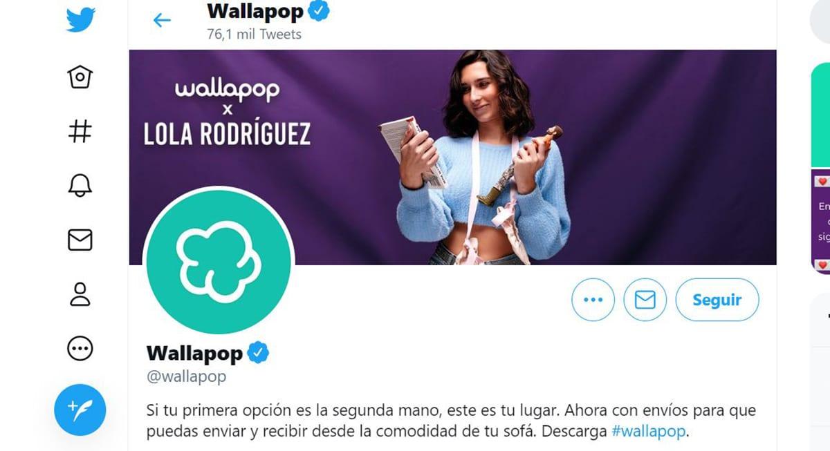 Twitter wallapop