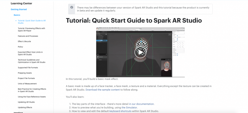 Spark Studio tutoriales