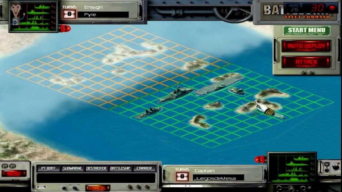 Batalla naval - Hundir la flota