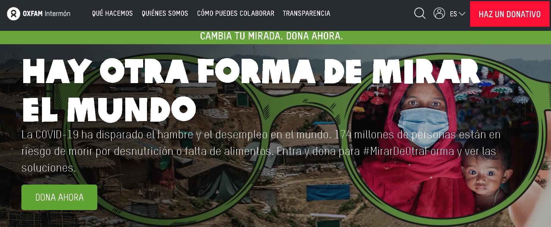 Oxfam Intermon Colabora reciclando tu movil