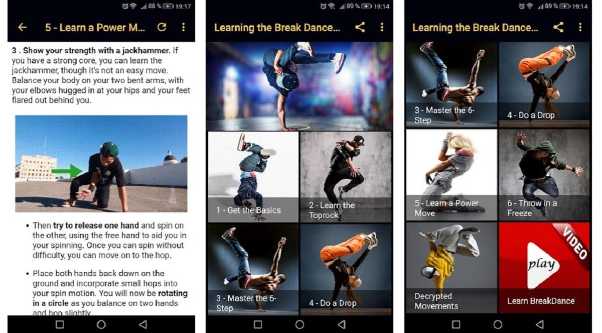 Cómo bailar el breakdance