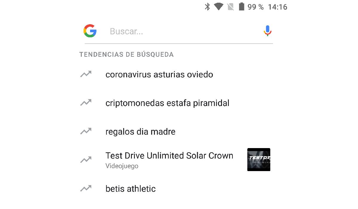 funciones barra búsquedas Google