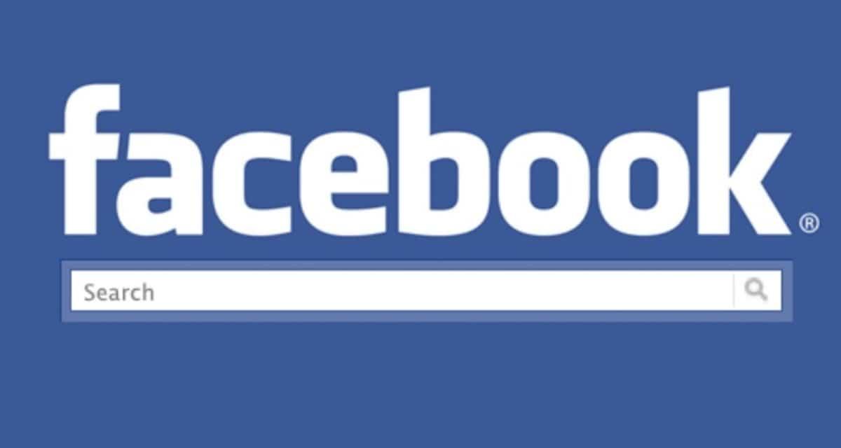 Facebook busqueda