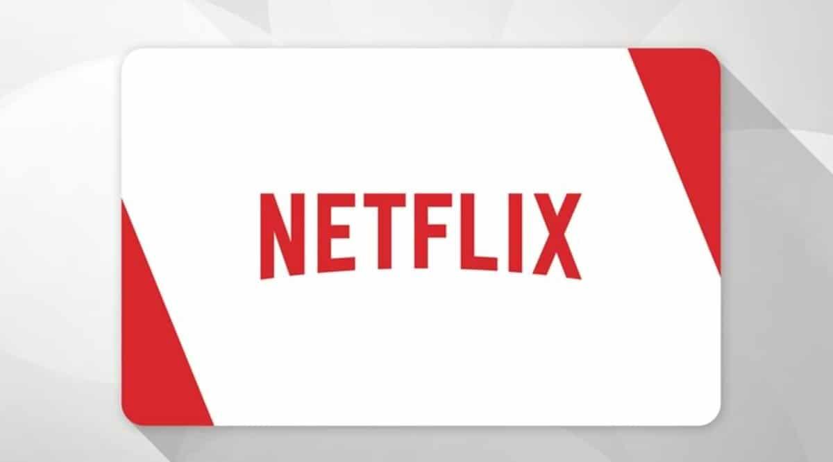 Netflix tarjeta
