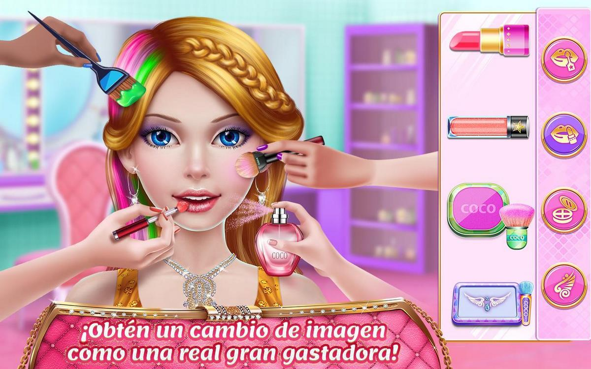 Chica rica juego para Android