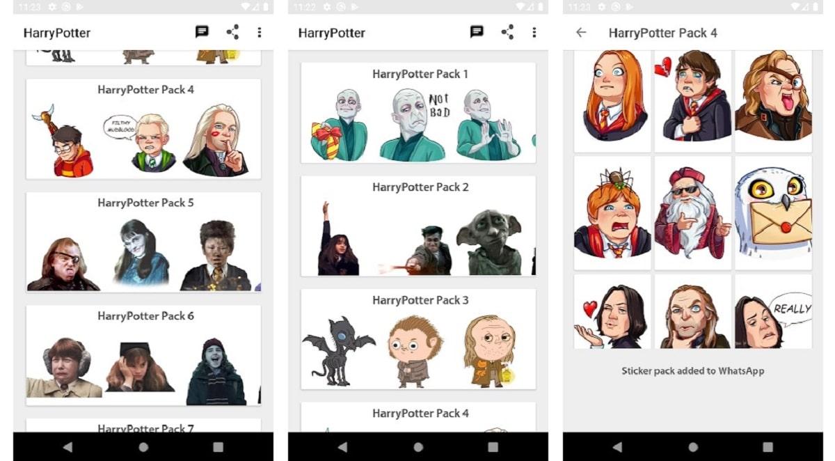 Stickers de Magos para Muggles, WastickerApps