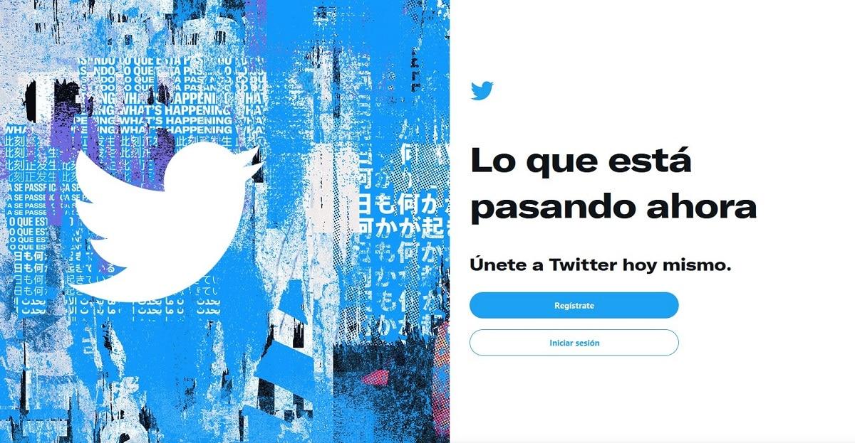 Twitter sin cuenta
