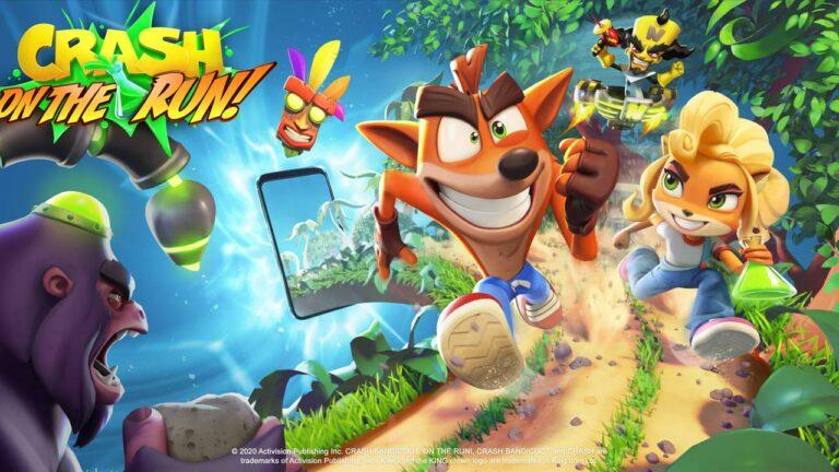 trucos crash bandicoot on the run