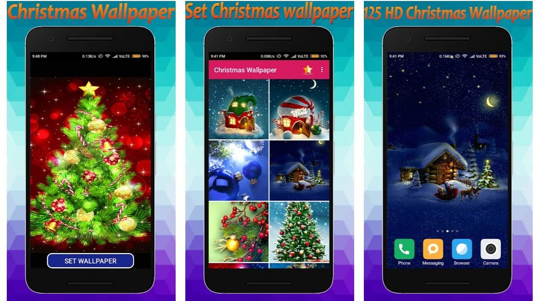 3D Merry Christmas wallpaper