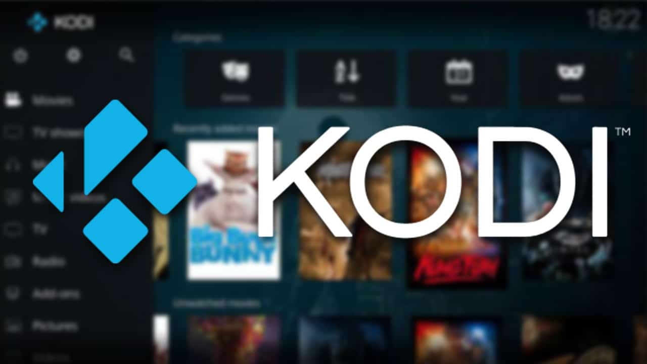 Kodi app de código abierto