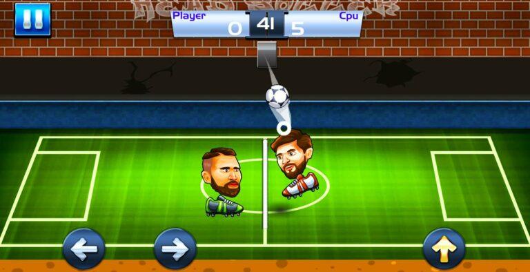 juegos de futbol cabezones