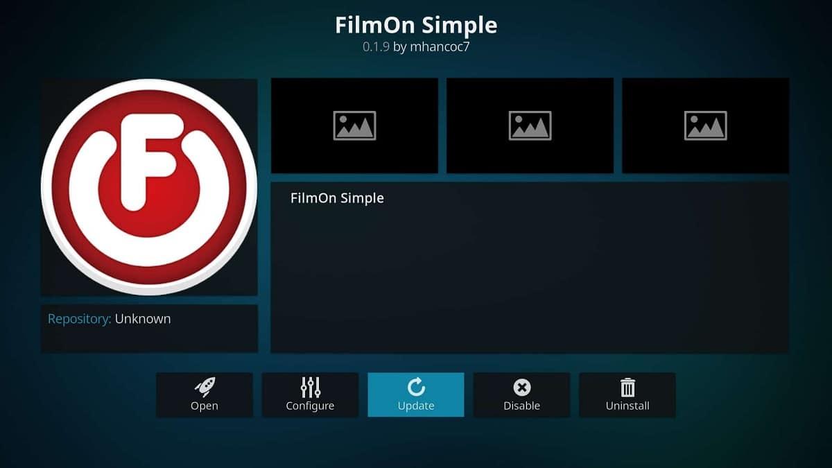 FilmOn Simple Kodi