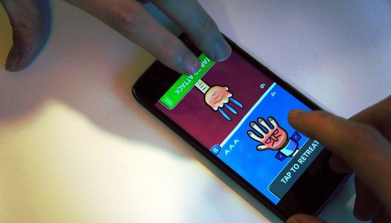 Juegos 2 jugadores misma pantalla Android