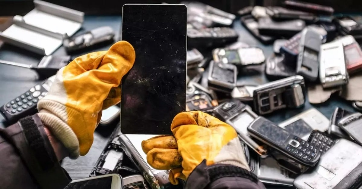 reciclar smartphones correctamente
